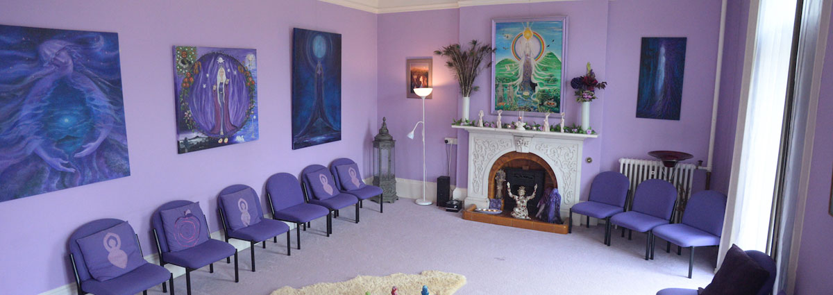 The Nolava Room in Goddess House