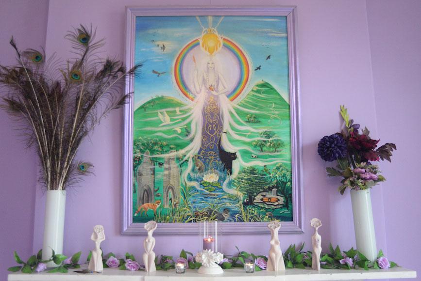 Nolava Room altar